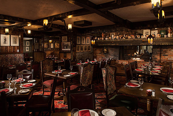Pub Room Lord Fletcher Inn Rancho Mirage CA